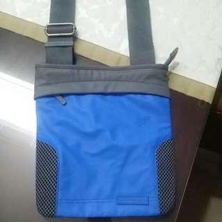 Calvin Klein Polyester Monogrammed Messenger Bag