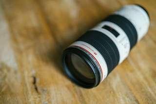 Canon EF 70-200mm F/2.8L II USM