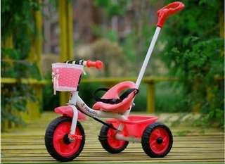 Kid bike w/handle