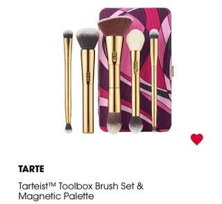 Tarte Makeup Brushes & Makeup Case