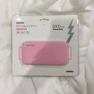 Miniso Powerbank 6000Mah ( di toko 199 )