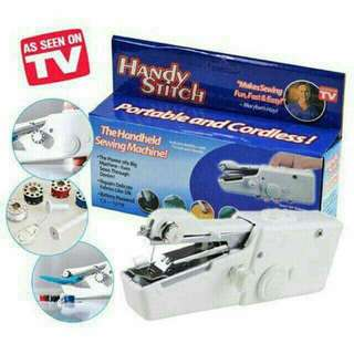 Hand Stitch Portable and Cardless Sewing Machine