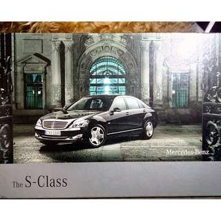 MERCEDES-BENZ the S-CLASS 2008 (Brochure-Book)