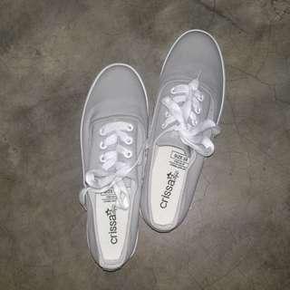 Crissa gray shoes