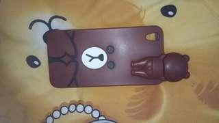 Case brown line oppo R9 ( F1 plus )
