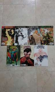 Doctor Strange Vol 4 (Marvel Comics 7 Issues; #21 to 26 plus #1.MU, Secret Empire story tie-in, #26 is the final issue for this title series before renumbering)