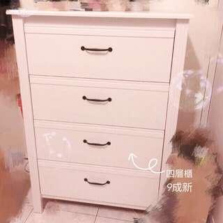 Ikea 四層櫃