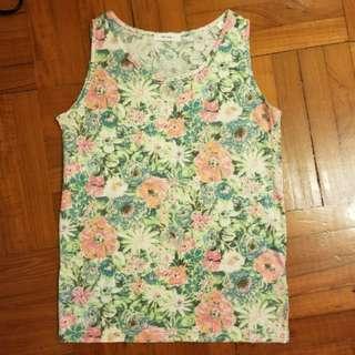[搬屋急清] niko and... 夏日花花背心 floral print vest