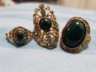 Fancy Branded Rings