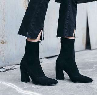 Ankle Pointed Heel Boot