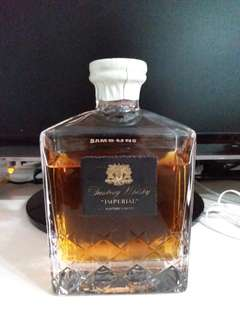Suntory imperial whisky末開封