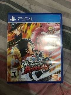 PS4 Game: OnePiece-Burning Blood