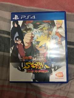 PS4 Game: Naruto Shipuden - Ultimate Ninja 4