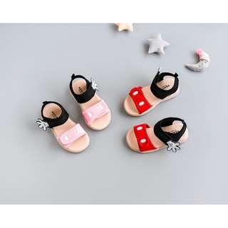 夏日熱銷 超Q萌米奇兒童涼鞋