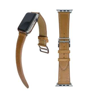 (限時大優惠!七折!)全新熱賣 蘋果手錶真皮錶帶 Apple Watch Band Replacement Genuine Leather Strap 38mm/42mm (包郵)