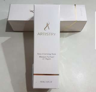 Brand new Artistry Deep Cleansing Mask 100ml