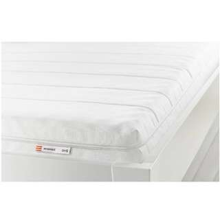 MOSHULT Foam DOUBLE BED mattress, firm, white