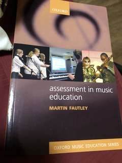 Assessing music learning in education textbook