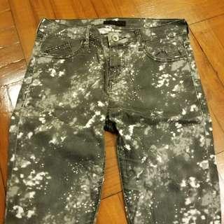 jeanasis 宇宙星空print jeans