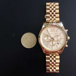 Good as new! Authentic Michael Kors Lexington (MK8281)