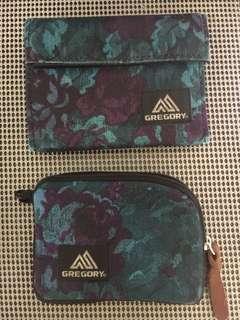 Gregory 銀包+散子包