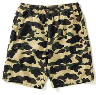 BAPE 1st Camo Beach Pants