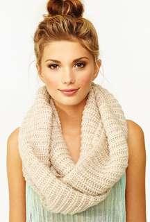BN Cream Infinity Knit Scarf