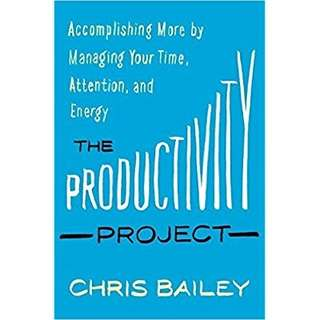 eBook - The Productivity Project by Chris Bailey