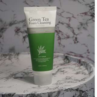 3W Clinic Green Tea Foam Cleanser
