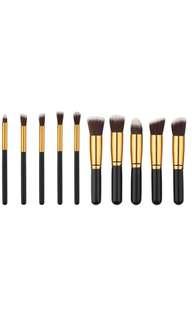 10-Piece Kabuki Brush Set