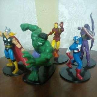 Classic Avengers Team.