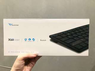 Alcatroz xplorer go! 100BT wireless keyboard
