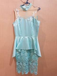 Qipao dress mint