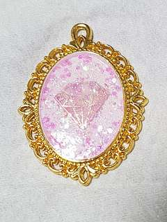 Pink Bling Magical Diamond Necklace