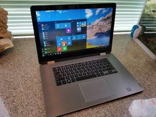 "Dell 15"" Touchscreen 2in1 Laptop + Tablet"