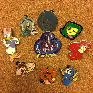 迪士尼 襟章 徽章 Disney pin Disneyland pin