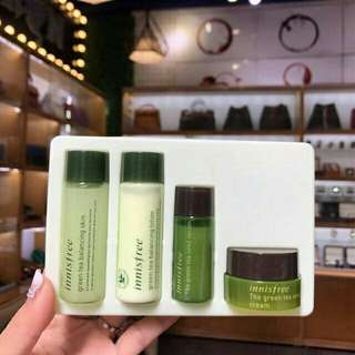 Innisfree Green tea spesial kit minus box