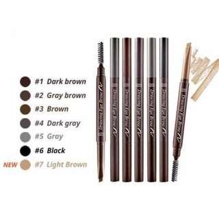 #3 BROWN Etude House Eyebrow Pencil