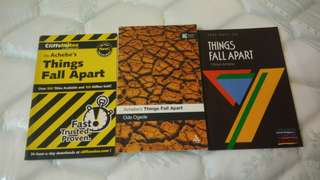 Things Fall Apart (Chinua Achebe) notes and reader guides