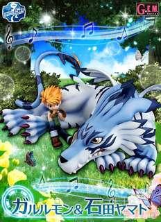 Digimon Yamato Garurumon Figure BIB