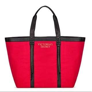 Victoria's Secret Red Tote Bag