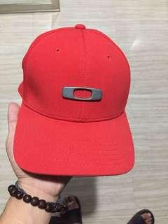 OAKLEY Red Classic Cap