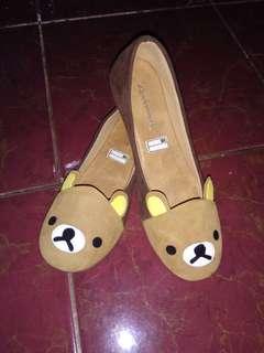 Sepatu flatshoes rilakkuma rilakuma
