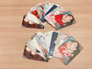 TWICE yescard $7@1(銀) $8@1(彩色)