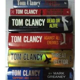 TOM CLANCY - Various Titles