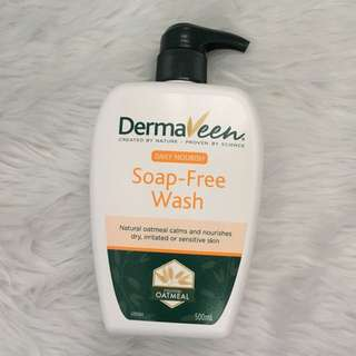 DERMAVEEN SOAP FREE WASH