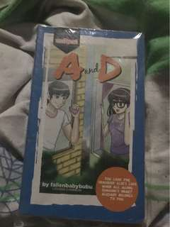 Wattpad A and D book