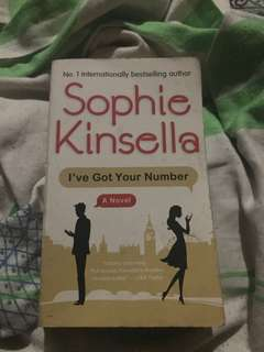 Sophie Kinsella's Ive got your number book