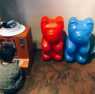 Gummy bear 小熊軟糖 裝飾 擺設 擺飾 飾品 haribo(紅色款)