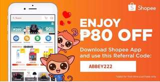 ₱80 Off your first order when you purchase in my Shopee Store : https://shopee.ph/abbeywearshop. Copy the code to get the discount